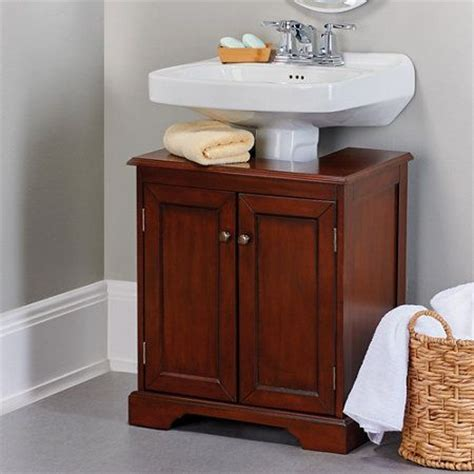 bathroom pedestal cabinet weatherby bathroom pedestal sink storage cabinet