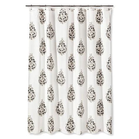 gray paisley shower curtain indigo and white paisley curtain