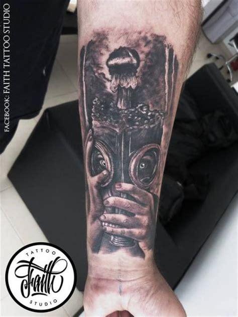 tatuagem bra 231 o m 225 scara bomba por faith tattoo studio