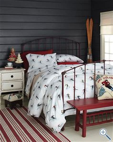 ski bedding vintage ski lodge on pinterest vintage ski skiing