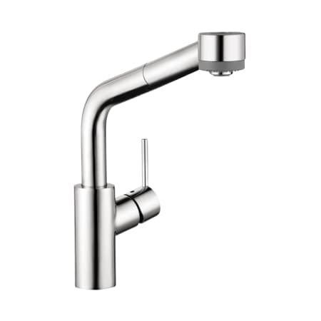 hansgrohe 04247000 chrome talis s pull kitchen faucet