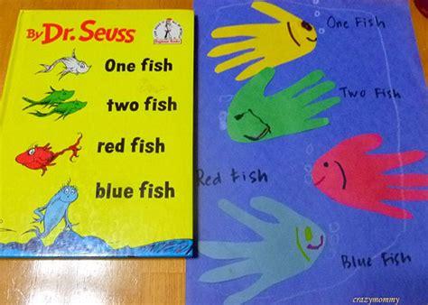 One Fish Two Fish Hand Print Fish Fun Family Crafts One Fish Two Fish Fish Blue Fish Coloring Page