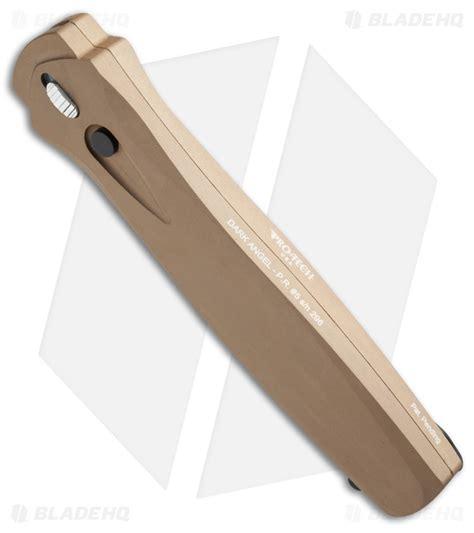 protech otf protech otf automatic knife desert sand 3 7