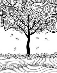 fall coloring pages for adults fall leaves color pages printable clean fall leaves