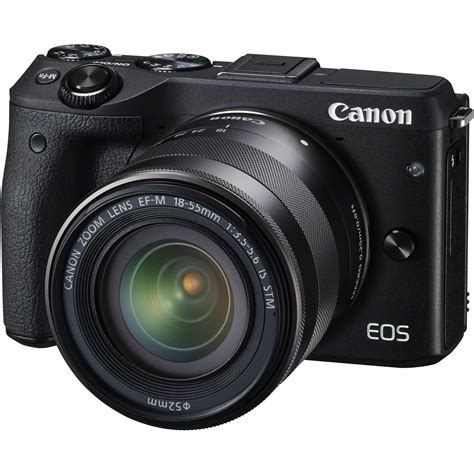 Kamera Canon Mirrorless M3 by Canon Eos M3 Mirrorless Digital With 18 55mm