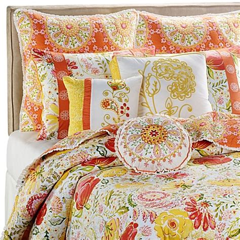 bed bath and beyond quilt dena home meadow quilt bed bath beyond