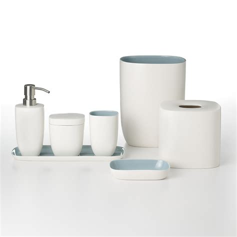 waterworks studio quot modern ceramic quot bath accessories