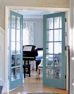 Repainting Interior Doors Painted French Doors Centsational