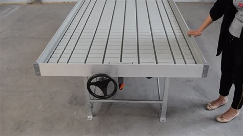 ebb and flow table new preminum ebb and flow table hydroponics system rolling