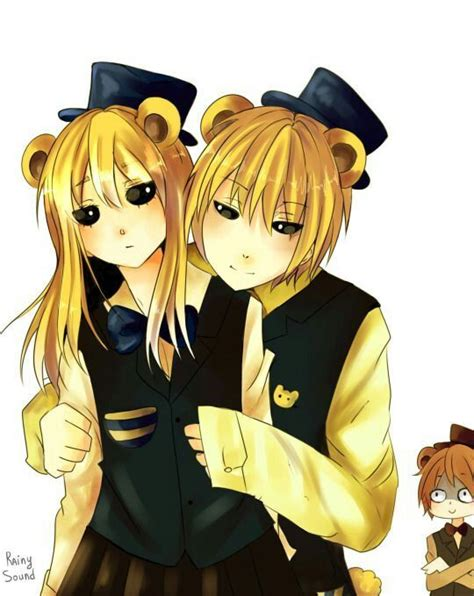 golden anime human freddy golden freddy and goldie freddy human five nights at