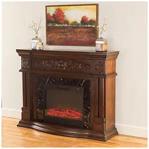 Big Lots Electric Fireplace View 62 Quot Grand Cherry Scroll Electric Fireplace Deals At Big Lots