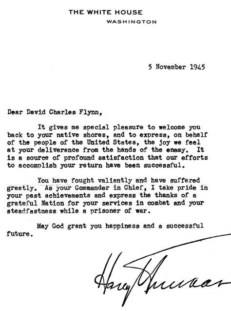Patient Transfer Letter Sle David Flynn Battle Of Java Sea Survivor Naval Air Station Fort Lauderdale Museum