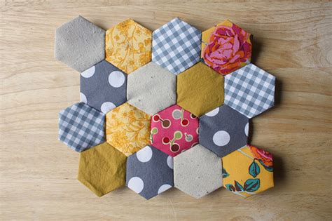 hexagon tutorial quilting byov bring your own vegetables how to easy hexagon