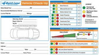 Check Brake System Service Advancetrac Vehicle Checkup Report