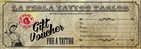 gift tattoo designs voucher templates pictures to pin on