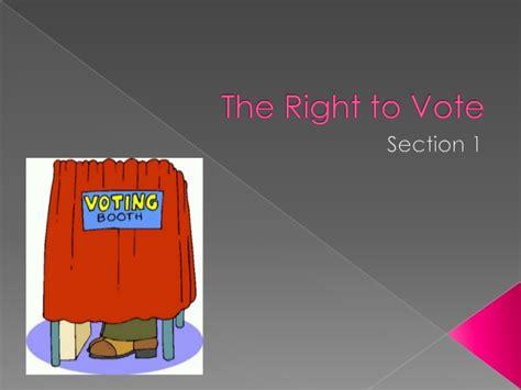 chapter 6 voter behavior