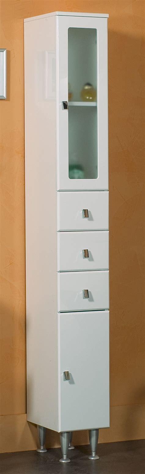 mobile colonna per bagno arredobagno colonna singola laccata