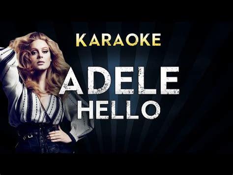 download mp3 adele hello instrumental adele hello official karaoke instrumental lyrics cover
