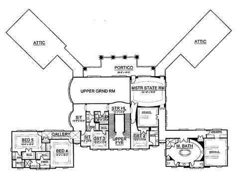 gilded age mansions floor plans gilded age mansion 12202jl architectural designs house plans