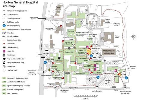 Shopping Center Floor Plan by Horton General Hospital Oxford University Hospitals