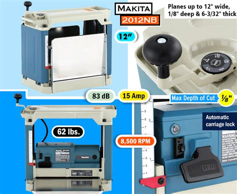 makita bench planer best benchtop planer which thickness planer is right for