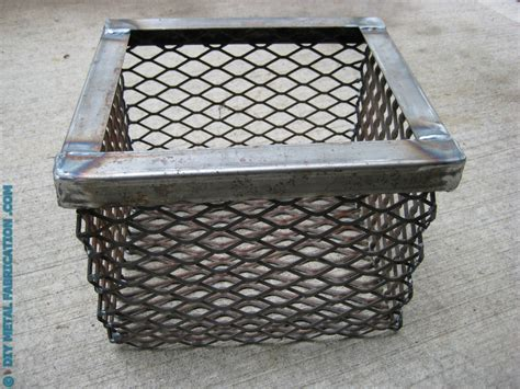 diy metal fabrication projects how to build smoker charcoal basket diverter plates diy metal fabrication