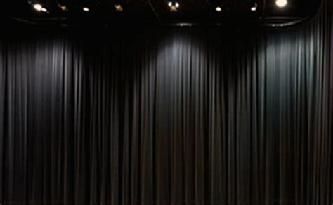 black stage drapes black curtain stage