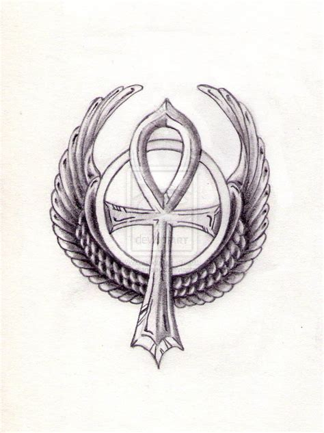 egyptian ankh tattoo designs ankh by sebastiankreuz on deviantart