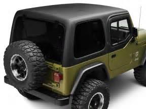 Jeep Wrangler Tj Half Doors Rally Tops Wrangler 1 Hardtop For Half Doors Xtr