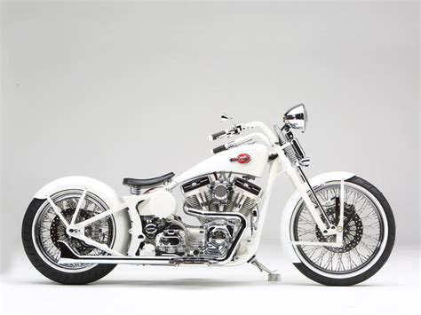 Custom Paint Harley Davidson Motorcycles by Powdercoating Motorcycle Custom Paint White Custom