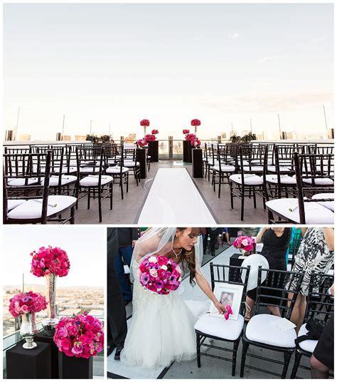 Wedding Planner Las Vegas by Las Vegas Wedding Ghostbar At Palms Danielle Mike Las