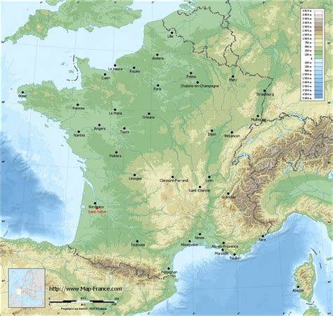 Selve Road Map Saint Selve Maps Of Saint Selve 33650