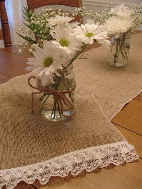 burlap table runners with lace for sale sale burlap table runner with lace ruffles 13 от
