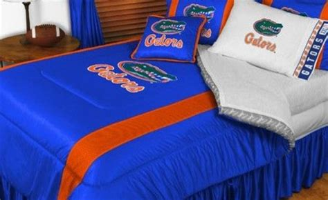 florida gators comforter florida gators ncaa bedding sidelines comforter and