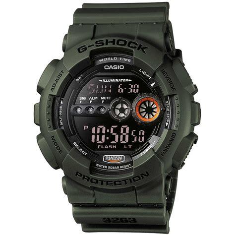 cronografo casio orologio cronografo uomo casio g shock gd 100ms 3er