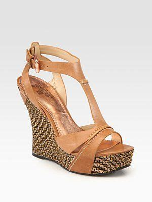 leather wedge shoes fashion trends