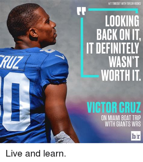 Victor Cruz Meme - hit timeout with taylor rooks looking back onit it