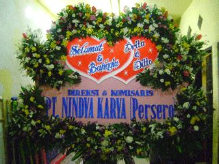 Forhand Segar 1 toko bunga surabaya 082140908989 papan bunga pernikahan