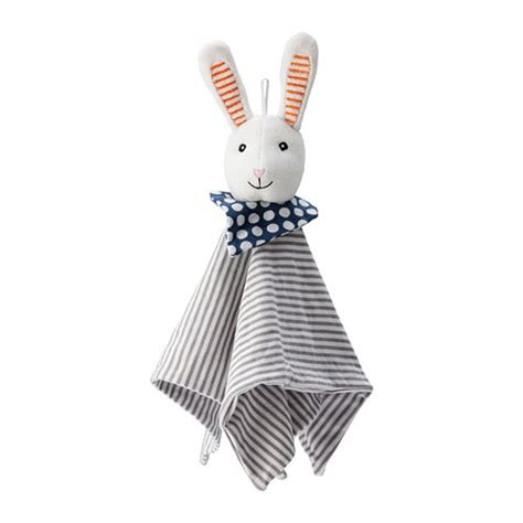 kinderlen konijn leka knuffeldeken met speelgoedbeest ikea