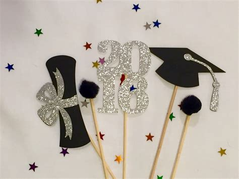 graduation centerpiece sticks 2016 graduation party party