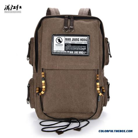 Rectangular Bag cheap new style vertical rectangular canvas bag backpack