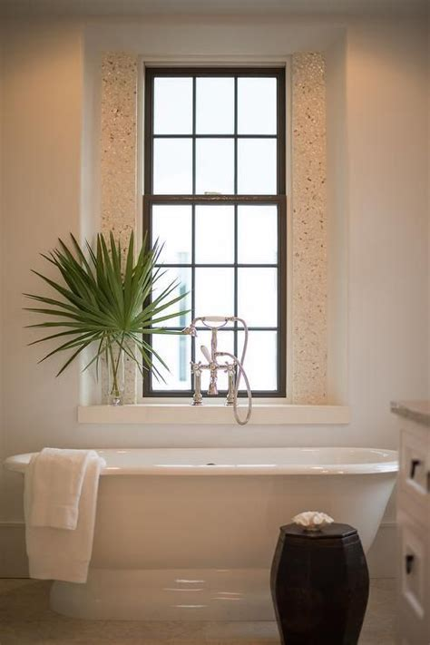 decoration salle de bains 956 coastal bathroom features a roll top bathtub placed
