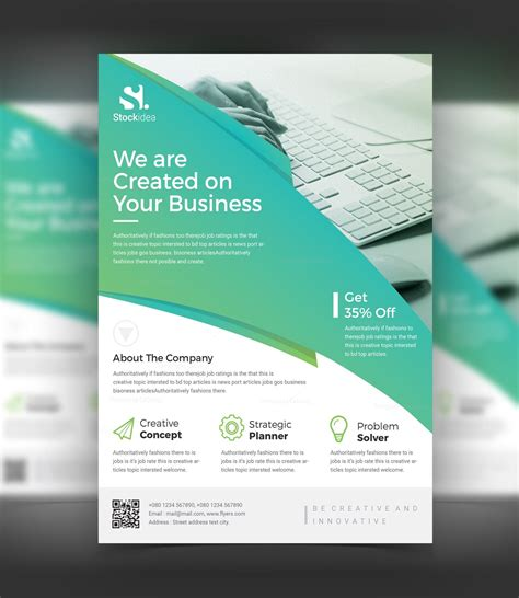 business flyers templates modern professional business flyer template