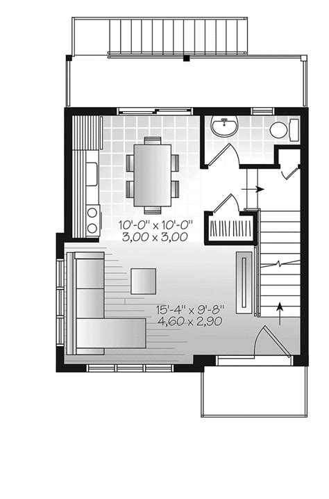 house plans and more saffold modern home plan 032d 0807 house plans and more
