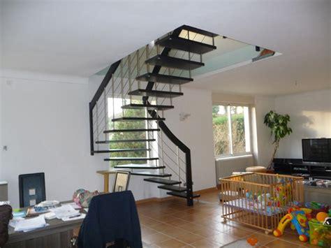 Escalier Dans Sejour by Escalier Suspendu Design Escalier Contemporain Mod 232 Le