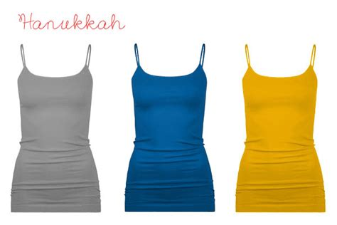 hanukkah colors 12 camisole color schemes for the holidays