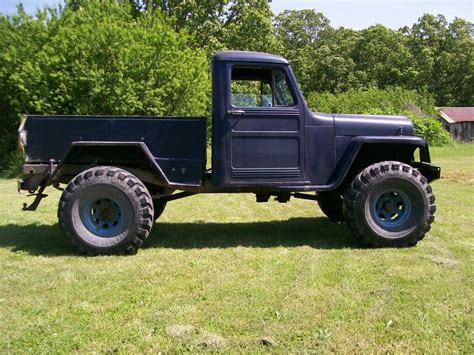 willys jeep pickup 1950 willys truck rebuild willys truck pinterest