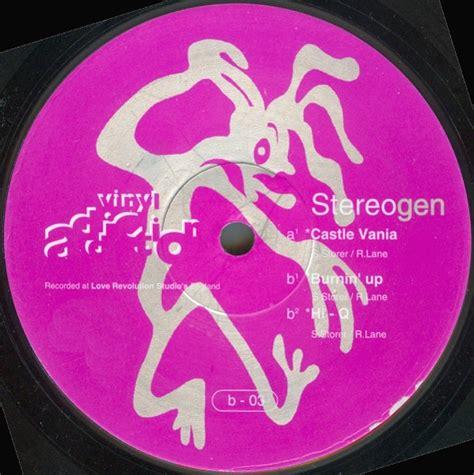 stereogen castle vania vinyl uk 1993 discogs