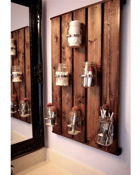 diy bathroom organizer small bathroom storage ideas craftriver