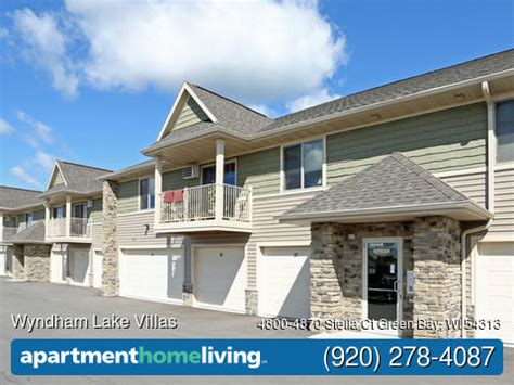 3 bedroom apartments in green bay wi wyndham lake villas apartments green bay wi apartments